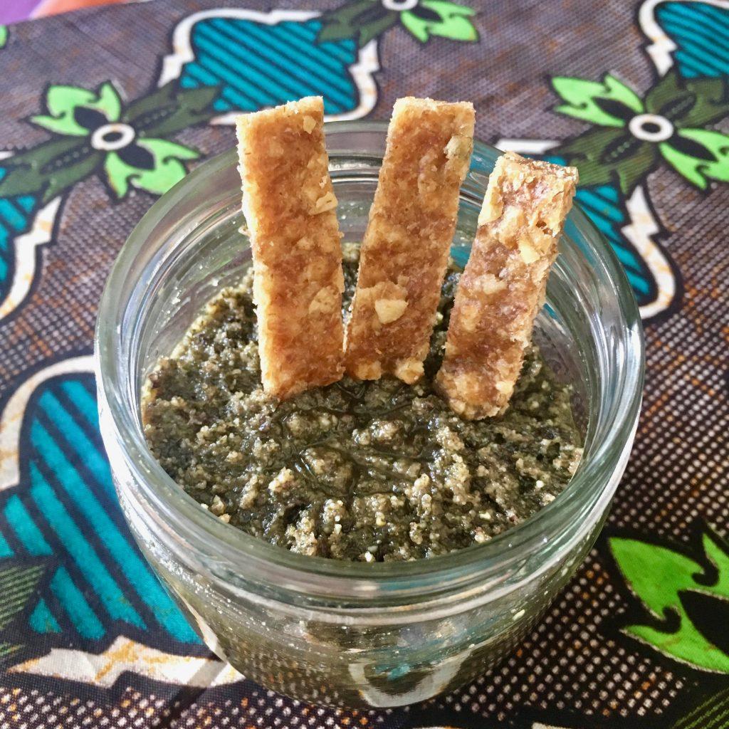 paté de semillas de calabaza