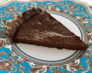 tarta de chocolate en crudo